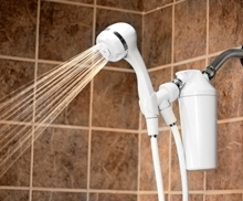 shower filter with handheld wand aquasana water filters. Black Bedroom Furniture Sets. Home Design Ideas